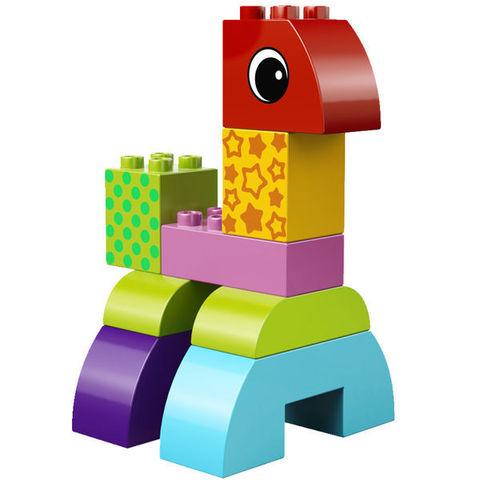 LEGO Duplo: Веселая каталка с кубиками 10554