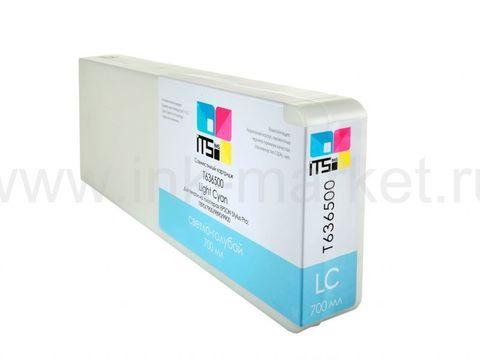 Совместимый картридж Optima для Epson Stylus Pro 7700/9700/7890/9890/9900 Light Cyan 700 ml Pigment (C13T636500)