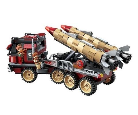 Конструктор Военная спецоперация Гром Ракетная установка