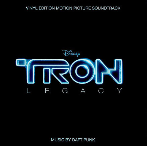 Комплект из 2-х виниловых пластинок.  Daft Punk ‎– TRON: Legacy (Vinyl Edition Motion Picture Soundtrack) (2LP)