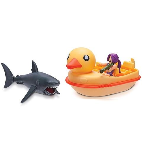 Роблокс Укус Акулы: Утиная Лодка. Коллекция Знаменитостей