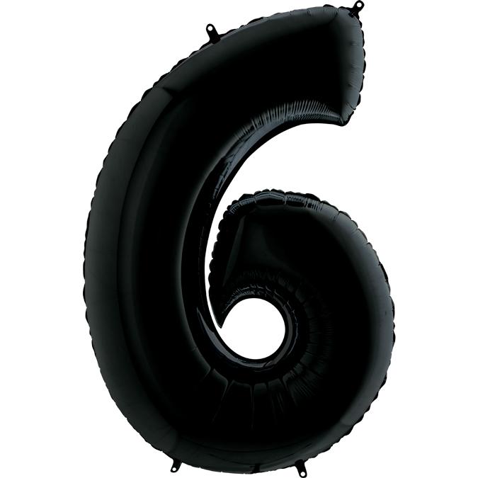 Шары цифры Шар цифра 6 Чёрная 470.jpg