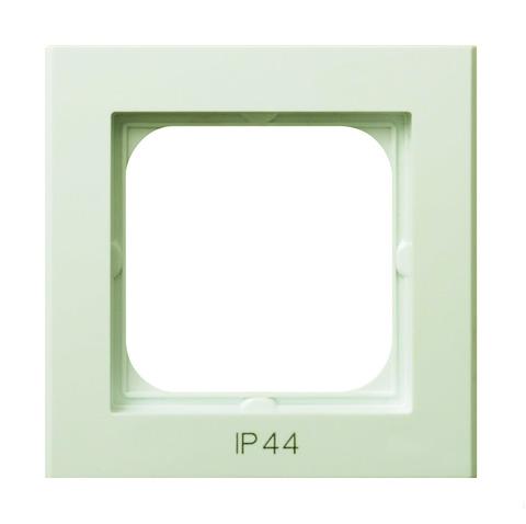 Рамка на 1 пост для выключатель IP-44. Цвет Бежевый. Ospel. Sonata. RH-1R/27