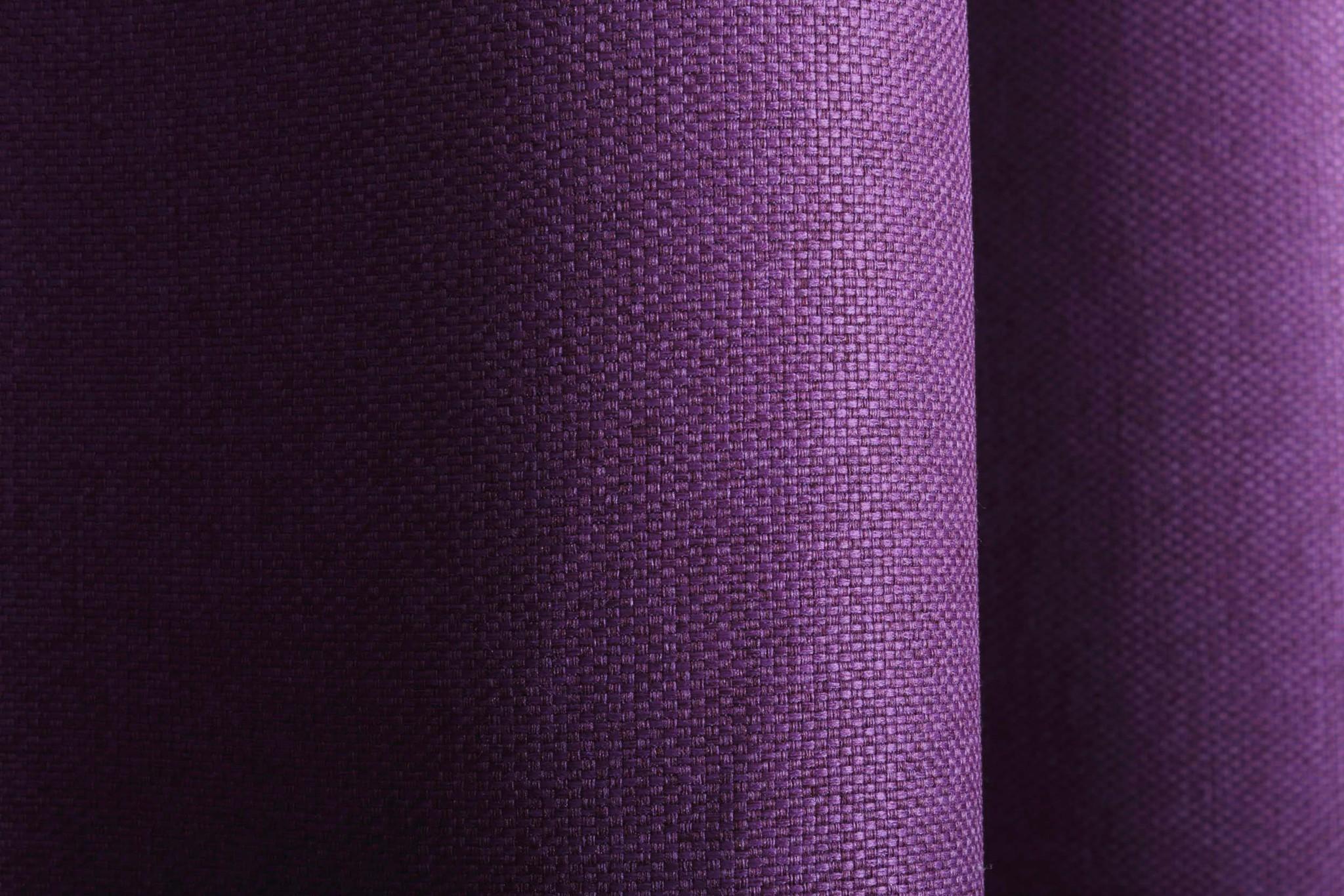 Длинные шторы под  лён Oxford (фиолетовый)