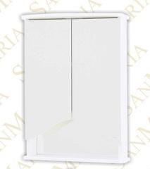 Зеркало-шкаф SanMaria Эрика-50 белый