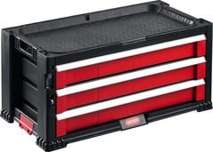 Ящик с 3 выдвижными полками