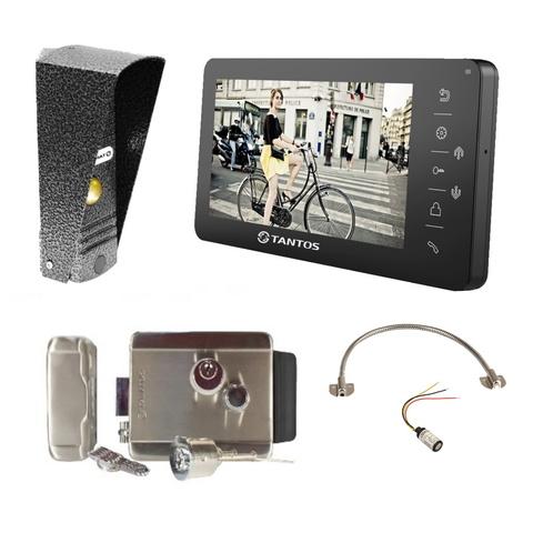 Видеодомофон с замком на калитку