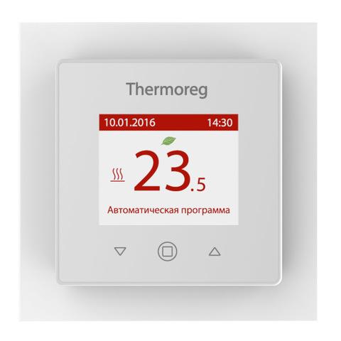 Терморегулятор для теплого пола. Thermoreg TI-970 White
