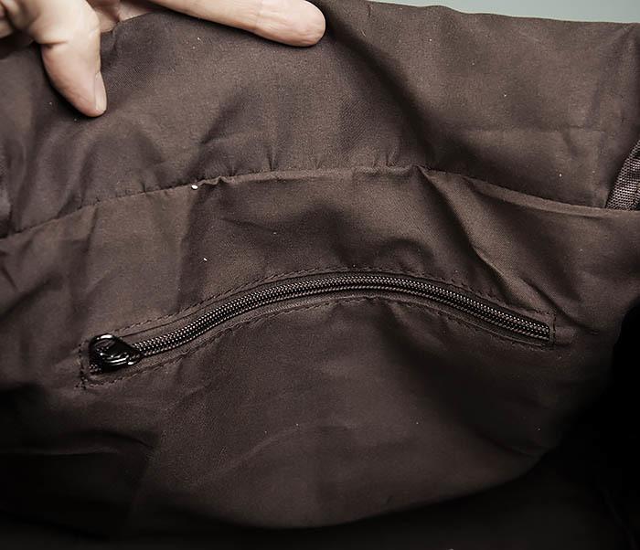 BAG477-1 Большая тканевая сумка с ремнем на плечо фото 14