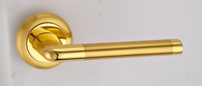 Ручка «ДАНТЕ» DH 209-04 SG/GP (латунь матовая/латунь блестящая)