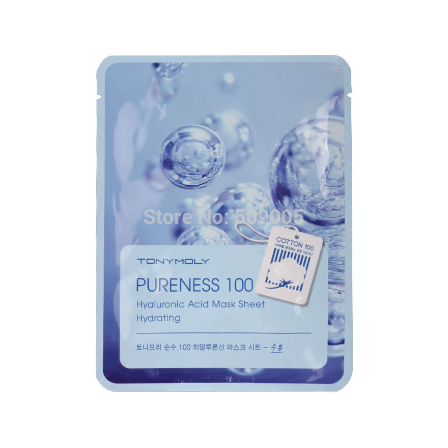 TONY MOLY Pureness 100 Hyaluronic Acid Mask Sheet Hydrating