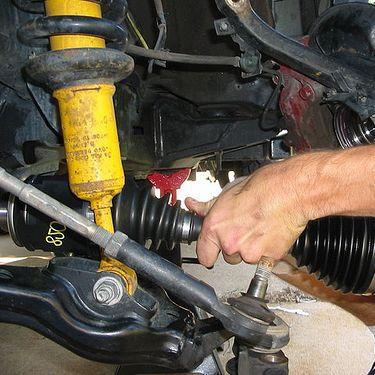 Замена привода (снятие-установка): замена ШРУСа в сборе фото-1