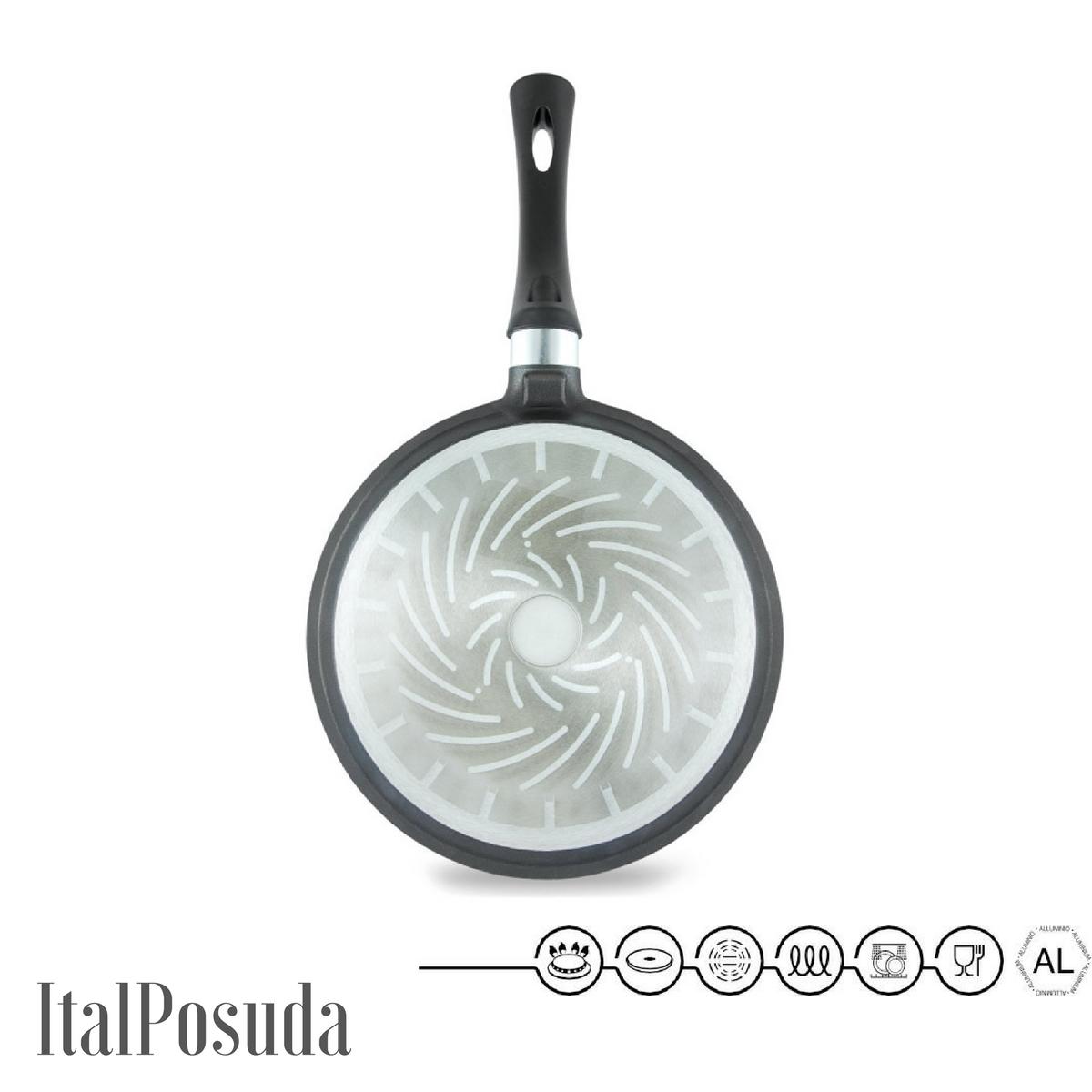 Блинная сковорода НМП Ферра Индукция, 24 см
