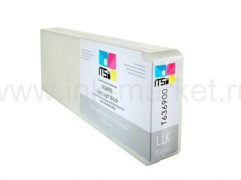 Совместимый картридж Optima для Epson Stylus Pro 7700/9700/7890/9890/9900 Light Light Black 700 ml Pigment (C13T636900)