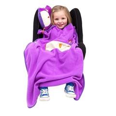 детский дорожный набор SnooziHedz Сова фиолетовый