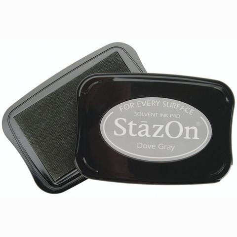Архивные чернила StazOn  Dove Gray