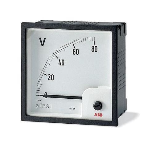 Вольтметр переменного тока прямого включения VLM-1-500/72. ABB. 2CSG112220R4001