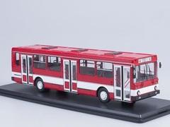 1:43 Городской автобус Ликинский - 5256 (красный/белый)