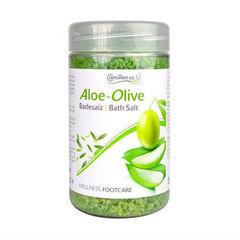 Соль для ножных ванн с алоэ вера и оливой Bath salt aloe-olive