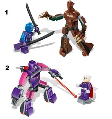 Minifigures Guardians of the Galaxy Blocks Building Series 01