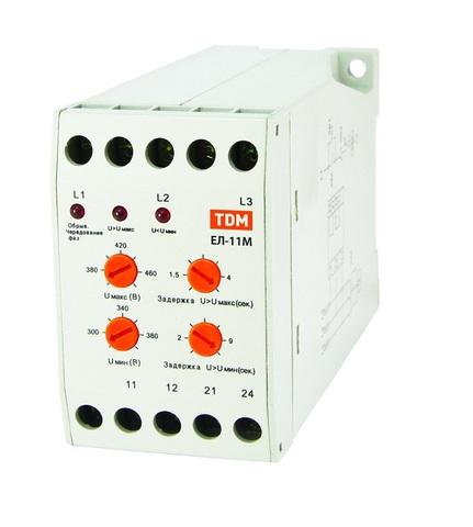 ЕЛ-11М-3х380В (1п-контакт) TDM