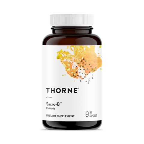 Thorne Research, Sacro-B™ Probiotic, 60 капсул