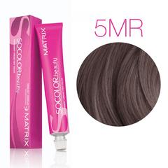 Matrix SoColor Beauty 5MR (Светлый шатен мокка красный) - Крем-краска для волос