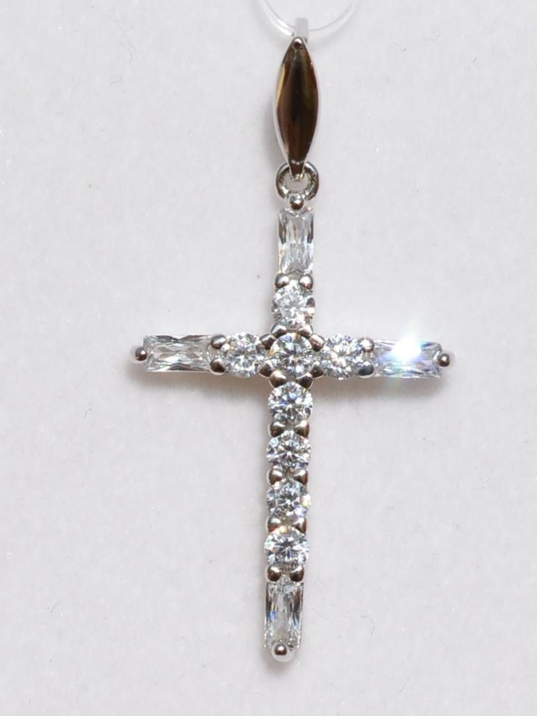 Крест 31380 (кулон  из серебра).