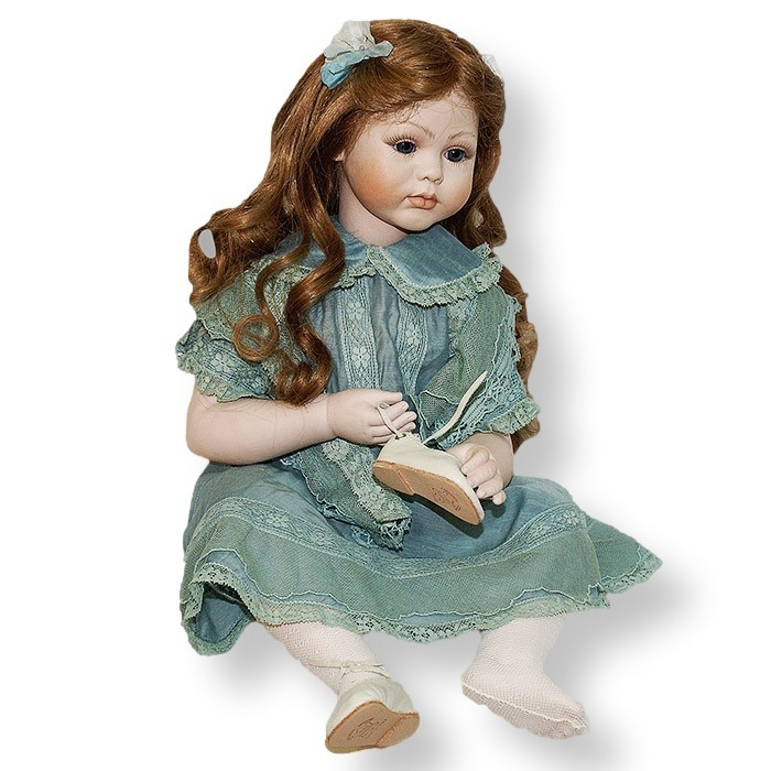 Статуэтки Кукла фарфоровая коллекционная Marigio Matilde kukla-farforovaya-kollektsionnaya-marigio-matilde-italiya.jpeg