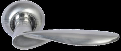 Фурнитура - Ручка Дверная  Puerto AL 509-08, цвет никель матовый