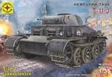 Немецкий танк T-II J 1:35