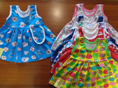 Платье цветное д/девочки