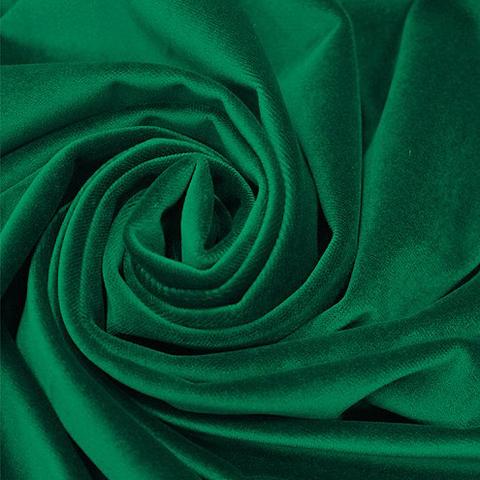 Бархат - темно-зеленый оптом. Ш-280 см. Арт.KB-210