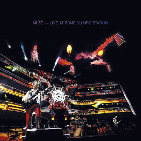Muse ‎/ Live At Rome Olympic Stadium (CD+Blu-ray)