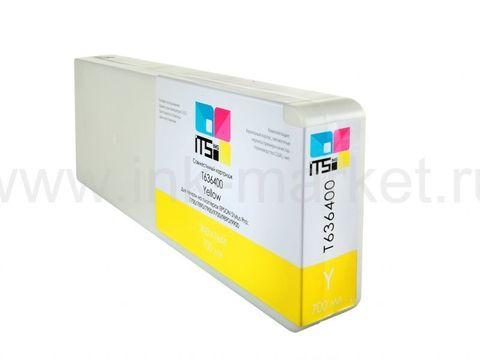 Совместимый картридж Optima для Epson Stylus Pro 7700/9700/7890/9890/9900 Yellow 700 ml Pigment (C13T636400)