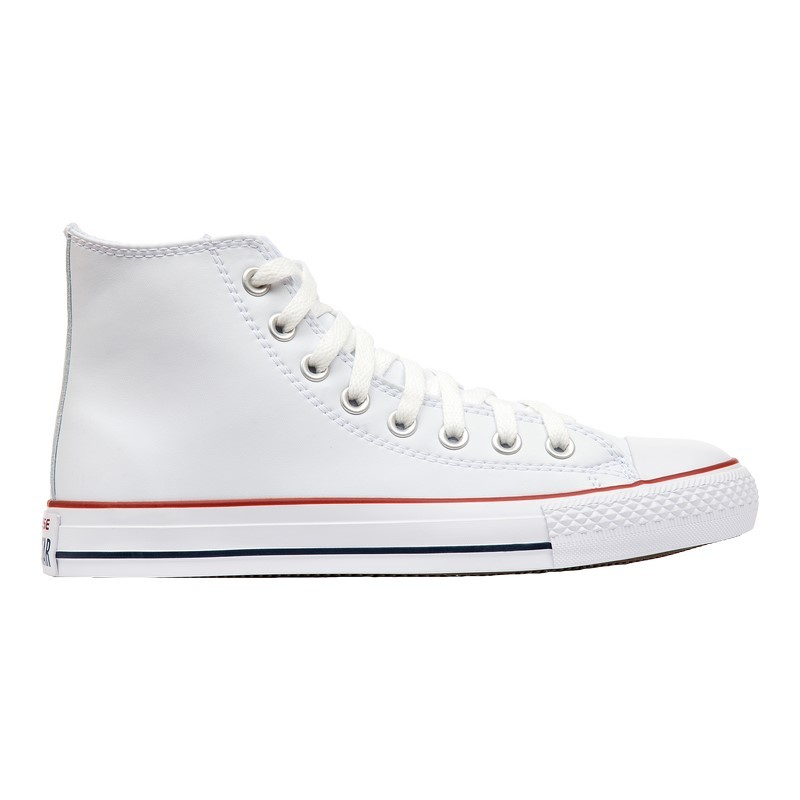 Кеды Converse Chuck Taylor All Star Leather 132169 White Red aрт 107-3