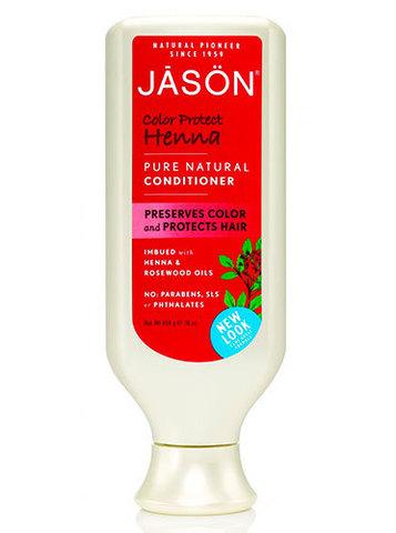 Кондиционер защита цвета с экстрактом хны, Jason