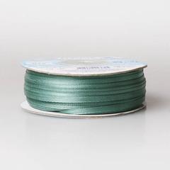 Лента атласная AL-3P 3мм*91,4м серо-зеленый