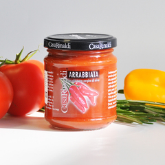Соус Casa Rinaldi томатный Аррабьята пикантный 190г