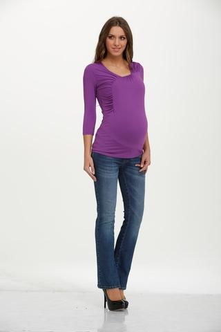 Блузка 01527 фиолетовый