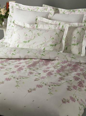 Постельное белье 2 спальное евро Mirabello Campanule розовое