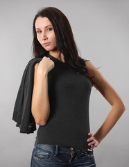422 комплект жен. темно-серый