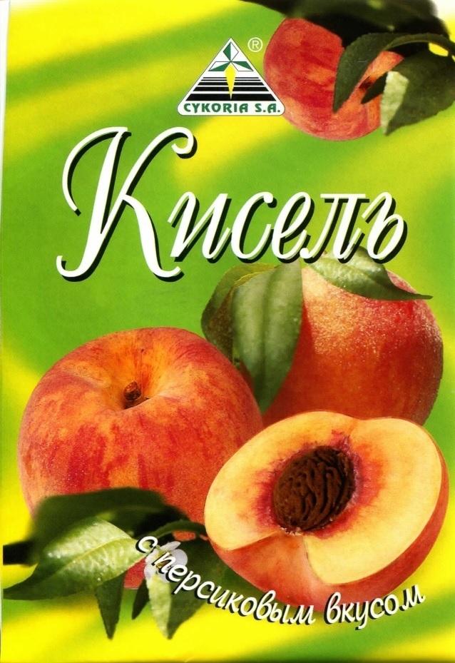 Кисель с персиковым вкусом, 90 гр.