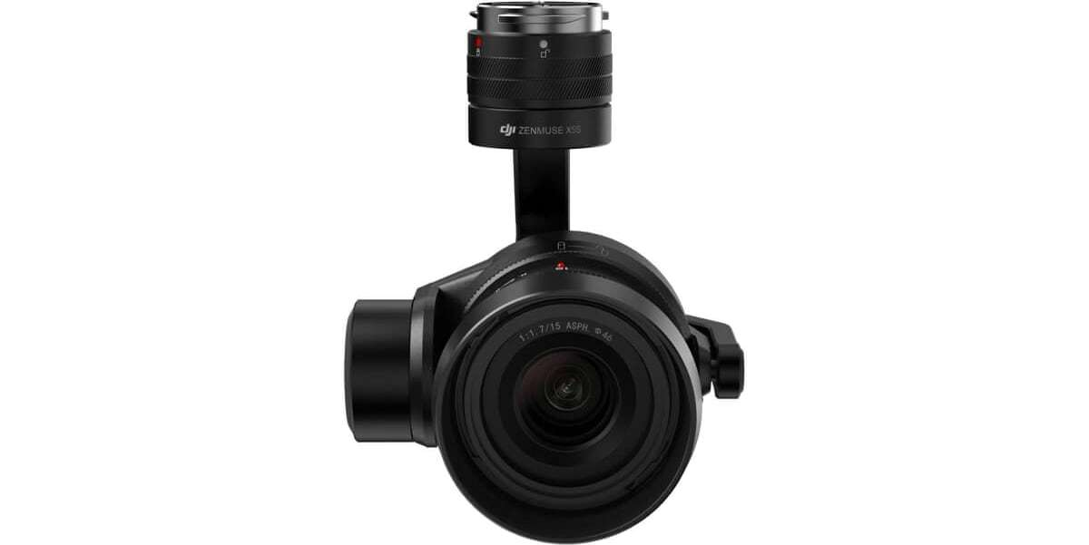 Подвес с камерой и объективом DJI Zenmuse X5S for Inspire 2 вид спереди