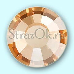 Стразы клеевые холодной фиксации стеклянные Golden Shadow Голдэн Шэдоу бежево-золотой на StrazOK.ru