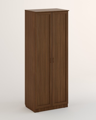 Шкаф ЛОМБАРДИЯ-05 рамочный орех темный