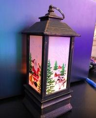 Новогодняя лампа 32см.