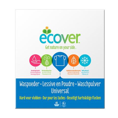 ECOVER экологический стиральный порошок -концентрат универсальный, 3 кг.