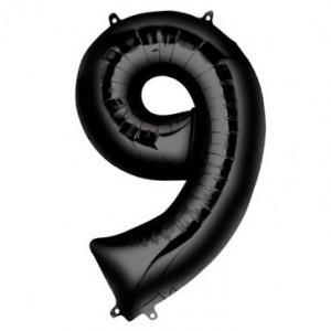 Шары цифры Шар цифра 9 Чёрная 991m.jpg