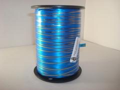 Лента с зол/пол.(0.5 см*250 ярд.) Синяя